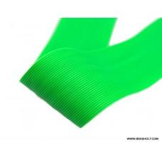 Round Rubber legs Fl. Green #M