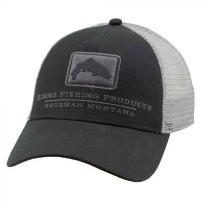 Simms Trout Trucker cap Black