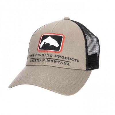 Simms Trout Trucker cap Tan