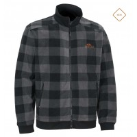 Swedteam Lynx Fleece Full Zip - Dark Grey