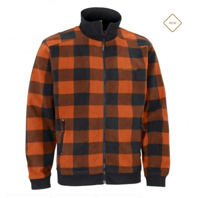 Swedteam Lynx Fleece Full Zip - Orange