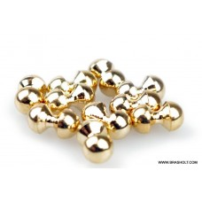 Twin Eyes gold 5mm