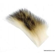 Vaskebjørn Body hair Bleget