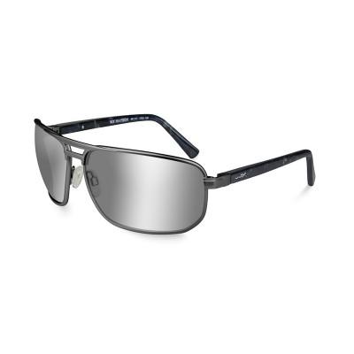 Wiley X HAYDEN Polarized Grey Silver Flash
