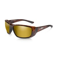 Wiley X KOBE Polarized Amber Gold Mirror